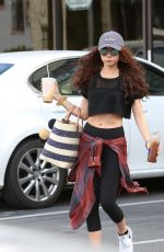 SARAH HYLAND Heading to a Gym in Los Angeles 02/19/2018
