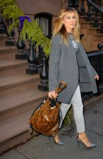 SARAH JESSICA PARKER Out and About in New York 02/06/2018