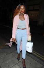 SARAH MULINDWA Leaves Bunga Bunga Anniversary Party in London 01/31/2018