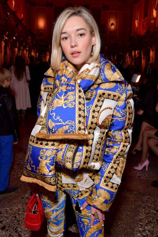 SARAH SNYDER at Versace Show at Milan Fashion Week 02/23/2018