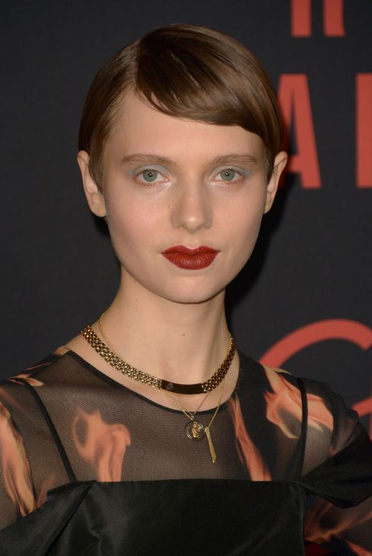 SASHA FROLOVA at Red Sparrow Premiere in New York 02/26/2018