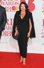 SCARLETT MOFFATT at Brit Awards 2018 in London 02/21/2018
