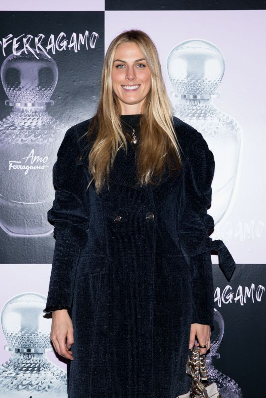 SELBY DRUMMOND at Amo Ferragamo Hosted by Suki Waterhouse at New York Fashion Week 02/06/2018