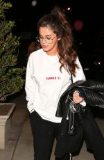 SELENA GOMEZ Arrives at a Recording Studio in westwood 02/22/2018