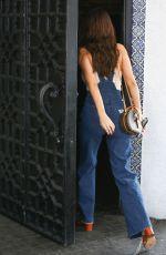 SELENA GOMEZ Arrives at Casa Vega Mexican Restaurant in Los Angeles 02/02/2018