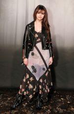 SELENA GOMEZ at Coach 1941 Show at New York Fashion Week 02/13/2018