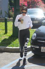 SELENA GOMEZ Heading to a Studio in Los Angeles 02/28/2018