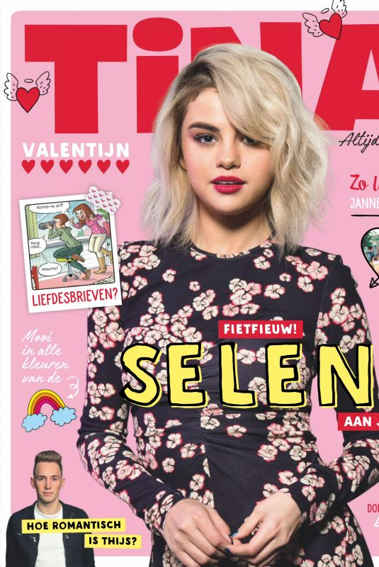 SELENA GOMEZ in Tina Magazine, Netherlands January 2018