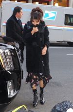SELENA GOMEZ Leaves Coach Fashion Show at New York Fashion Week 02/13/2018
