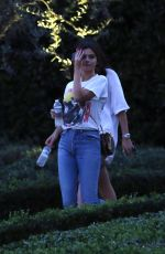 SELENA GOMEZ Out and About in Los Angeles 01/31/2018