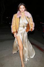 SELENA GOMEZ Out for Dinner in Los Angeles 02/02/2018