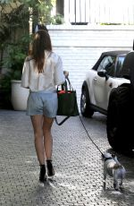 SELMA BLAIR Arrives at Chateau Marmont in West Hollywood 02/02/2018
