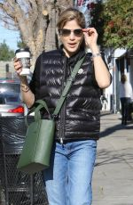 SELMA BLAIR Out and About in Studio City 02/24/2018