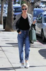 SELMA BLAIR Out for Coffee at Alfred Coffee + Kitchen in Studio City 02/23/2018