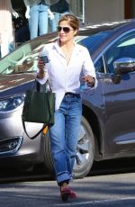 SELMA BLAIR Out for Coffee at Alfred