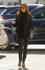 SELMA BLAIR Out for Lunch at Joan