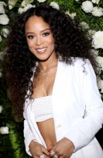 SERAYAH MCNEILL at CFDA, Variety and WWD Runway to Red Carpet Luncheon in Los Angeles 02/20/2018