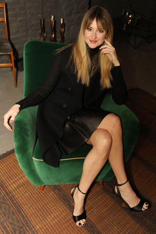 SHAILENE WOODLEY at Salvatore Ferragamo Intimate Dinner at Milan Fashion Week 02/24/2018