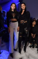 SHANINA SHAIK at Philipp Plein Fall/Winter 2018 Show at New York Fashion Week 02/10/2018