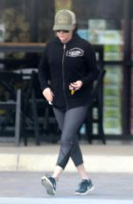 SHANNEN DOHERTY Out Shopping at Trancas Country Market in Malibu 02/07/2018