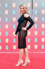 SIAN WELBY at BAFTA Film Awards 2018 in London 02/18/2018