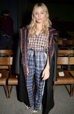 SIENNA MILLER at Burberry Show at London Fashion Week 02/17/2018