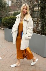 SIENNA MILLER at Tory Burch Fall/Winter 2018/19 Show at New York Fashion Week 02/09/2018
