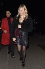 SIENNA MILLER at Vogue x Tiffany & Co Bafta Afterparty in London 02/18/2018