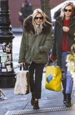 SIENNA MILLER Out in New York 02/04/2018