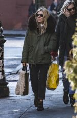 SIENNA MILLER Out Shopping in New York 02/05/2018