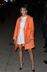 SISTINE ROSE STALLONE at Tom Ford Fashion Show in New York 02/07/2018