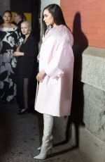 SOFIA CARSON at Marc Jacobs Fashion Show at NYFW in New York 02/14/2018