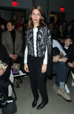 SOFIA COPPOLA at Anna Sui Fall/Winter 2018 Fashion Show at NYFW in New York 02/12/2018
