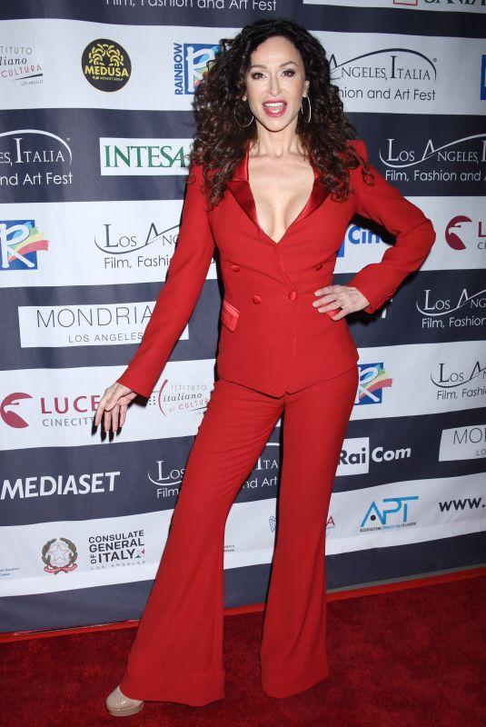 SOFIA MILOS at Los Angeles Italia Film, Fashion and Art Festival 02/25/2018
