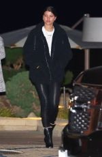 SOFIA RICHIE Out for Dinner at Nobu in Malibu 02/03/2018