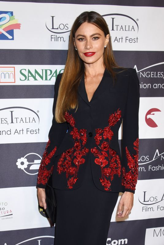 SOFIA VERGARA at Los Angeles Italia Film, Fashion and Art Festival 02/25/2018