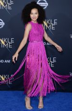 SOFIA WYLIE at A Wrinkle in Time Premiere in Los Angeles 02/26/2018