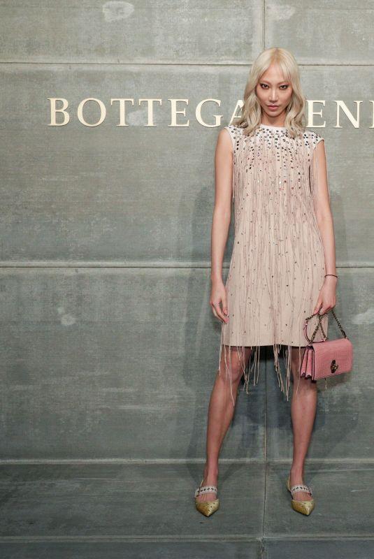 SOO JOO PARK at Bottega Veneta Show at New York Fashion Week 02/09/2018
