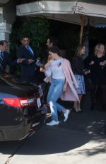 SOPHIA BUSH Leaves Chateau Marmont in Beverly Hills 02/20/2018