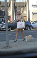 SOPHIA VEGAS WOLLERSHEIM Out Shopping in Hollywood 02/12/2018