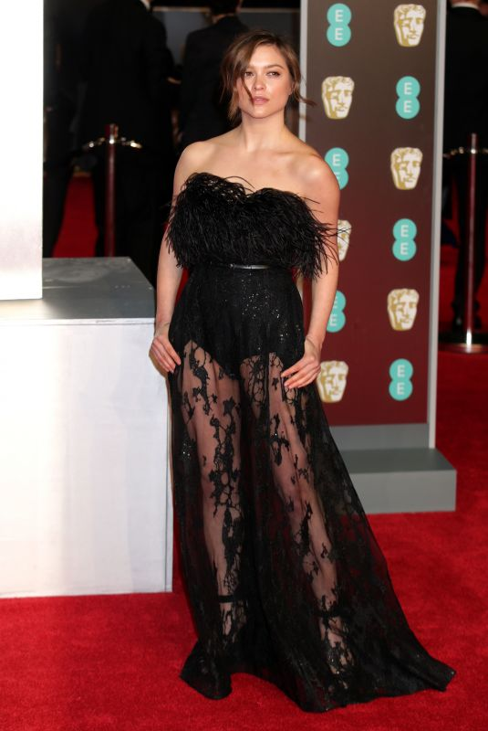 SOPHIE COOKSON at BAFTA Film Awards 2018 in London 02/18/2018