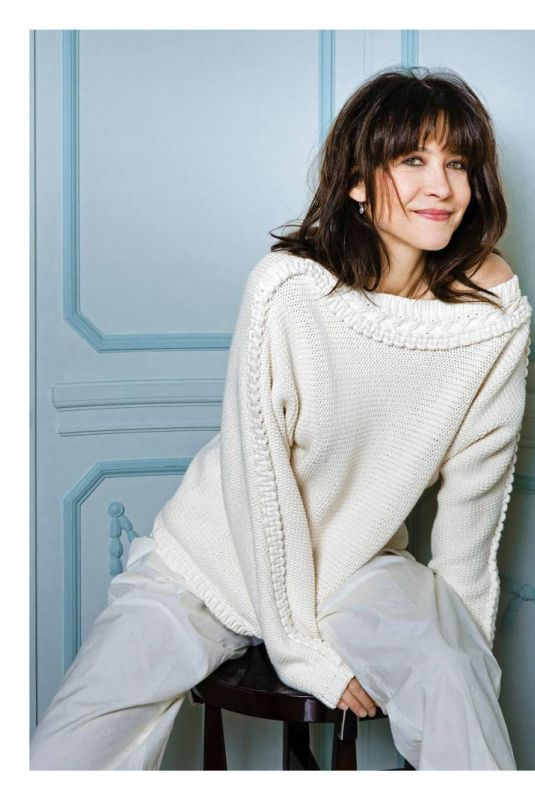 SOPHIE MARCEAU for Madame Figaro Magazine, France February 2018