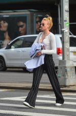 SOPHIE TURNER Out and About in New York 02/20/2018