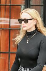 SOPHIE TURNER Out in New York 02/22/2018