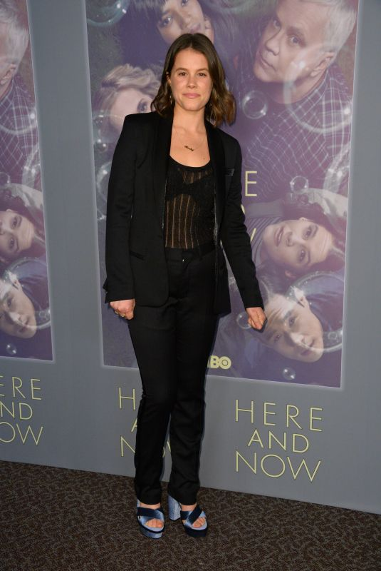 SOSI BACON at Here and Now Premiere in Los Angeles 02/05/2018