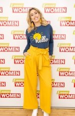 STACEY SOLOMON at Loose Women Show in London 02/01/2018