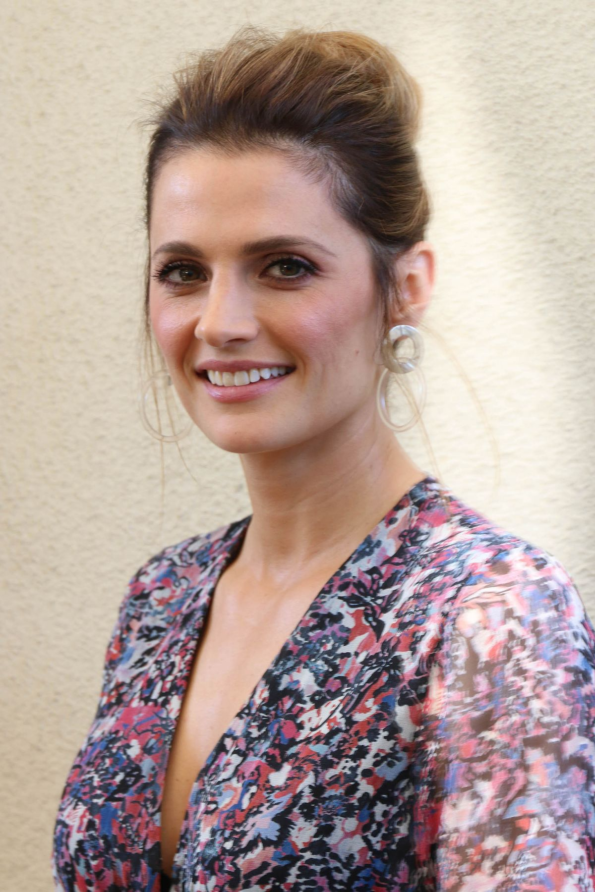 STANA KATIC at HFPA Offices in Los Angeles 01/31/2018