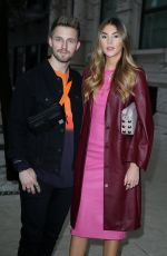 STEFANIE GIESINGER and Marcus Butler Out in Milan 02/23/2018