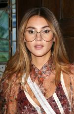 STEFANIE GIESINGER at Jill Stuart Show at New York Fashion Week 02/09/2018