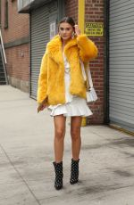STEFANIE GIESINGER Out at New York Fashion Week 02/10/2018